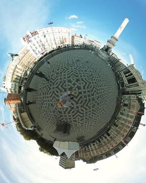 Fotos 360- Efeito Tinyplanet 9