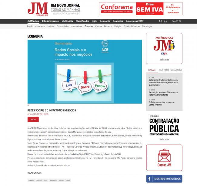 2017.10.02-jornal-da-madeira-redes-sociais-e-o-impacto-nos-negocios-acif-funchal