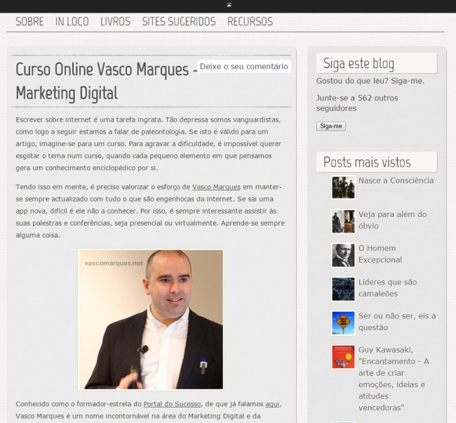curso online vasco marques