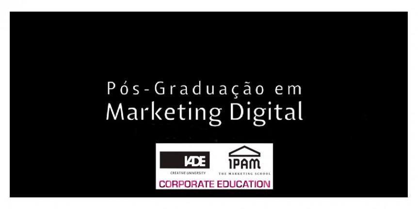 Pós-Graduação Marketing Digital IPAM