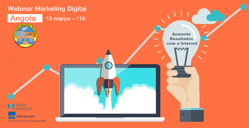 webinar marketing digital Angola