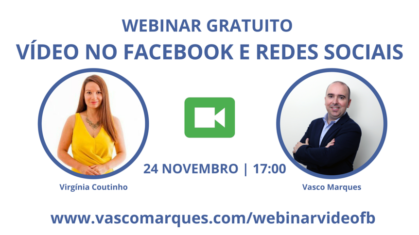webinar video facebook e redes sociais