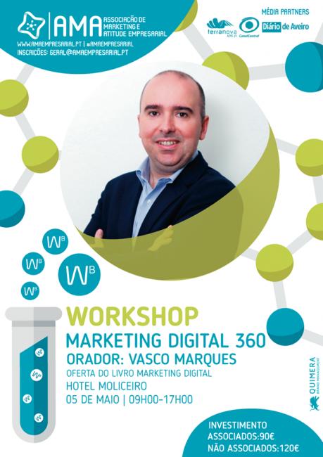 workshop marketing digital 360 ama visei5 maio